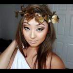 Halloween Makeup: Greek Goddess