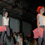 How does a fashion show?