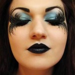 Makeup for Halloween: Fantasy style