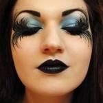 Halloween Makeup: The black angel