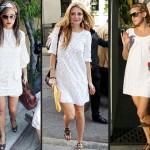 How to wear a white dress