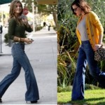 How to match flared jeans