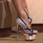 Walk properly in high heels: How it works!