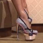 Walk properly in high heels: How it works!
