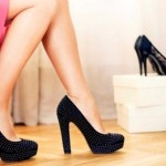 How to wear high heels without the risk of falling