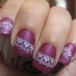 How to make a nail art with paper