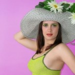 How to choose a hat for a spring wedding