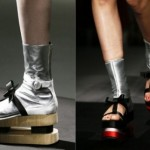 Bright, shiny and clean: the trends for women's shoes in spring 2013