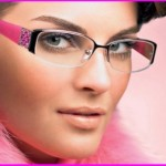 How to wear make-up behind the glasses