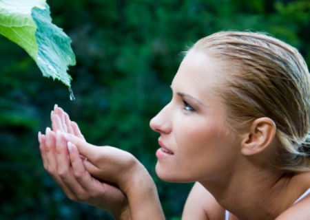 Purity and nature harmony