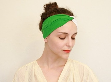 How to make a vintage headband
