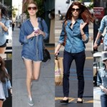 The denim shirt: must-have Spring 2013