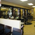 The Activity In A Hairdressing Salon