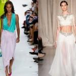 Long skirts for summer 2013