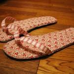 Slippers for summer 2013
