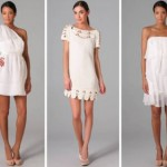 Look of the week: white dress for ever