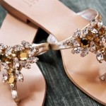Look of the Week: jeweled sandals