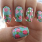 How to make a vintage nail art