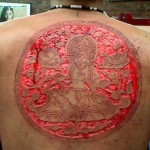 Sunscreen for sensitive skin and tattoos