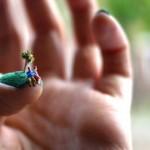 How to make a half-moon nail art
