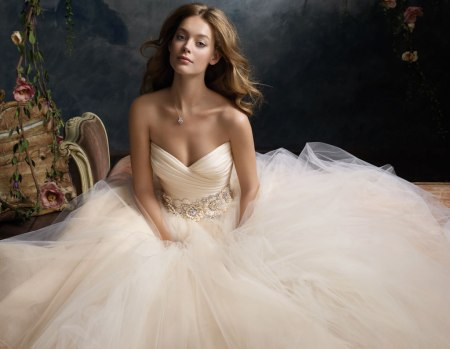 Which neckline to choose the wedding dress for Wedding dresses for small breasts