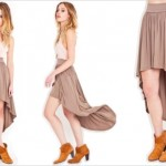 Tulle skirts, long and short, the new trend for winter 2014