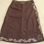 How to tighten the skirt