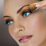 How to create an eyeliner using eyeshadow