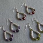 How to make earrings felt