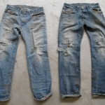 How to create fashion shorts from an old pair of jeans