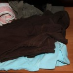 How to fold your clothes to maximize space