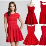 What to pair with a red dress