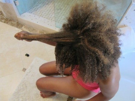 how to clean your water for wash hair
