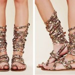 How to match the gladiator sandals
