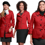 How to match a red jacket