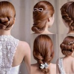 Bridal hairstyles and cuts