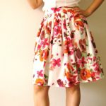 The best matches of a floral skirt