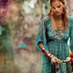 How to dress in gypsy style