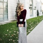 10 Fashionable DIY Maxi Skirts
