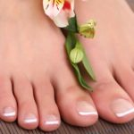 How to whiten the nails of the feet