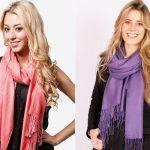 8 top stylish ways to wear a scarf